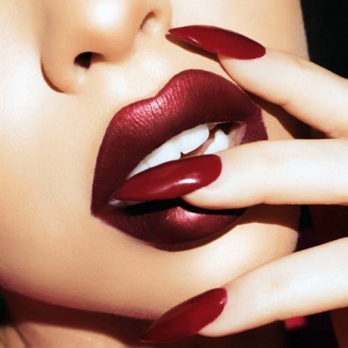 Beautiful Maroon Lipstick picture3