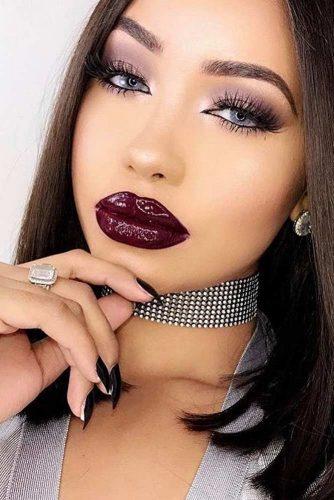 Trendy Maroon Lipstick picture3