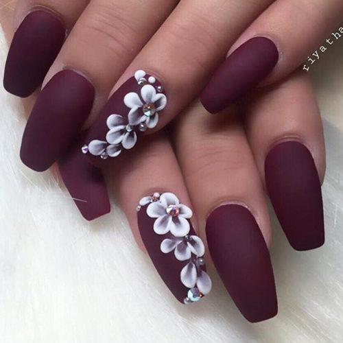 Flowers Nail Art