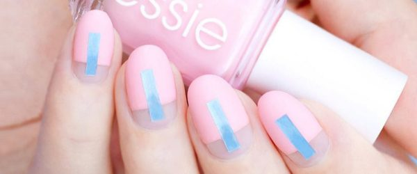 24 Elegant and Hip Designs for Matte Nail Polish