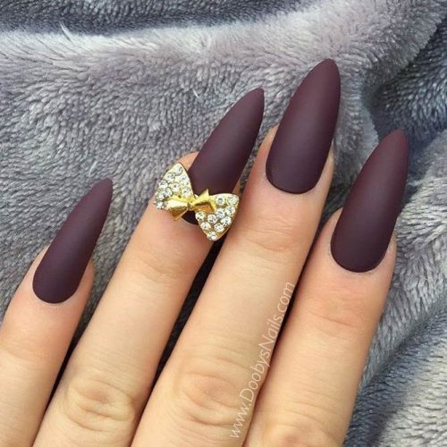 Maroon Stiletto