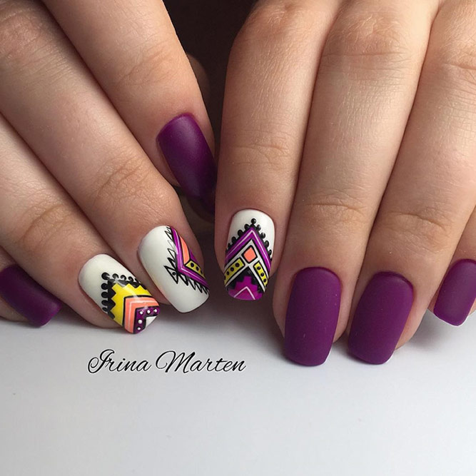 Purple Ethnic