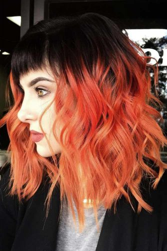 Fabulous Textured Long Bob with Bang picture 6