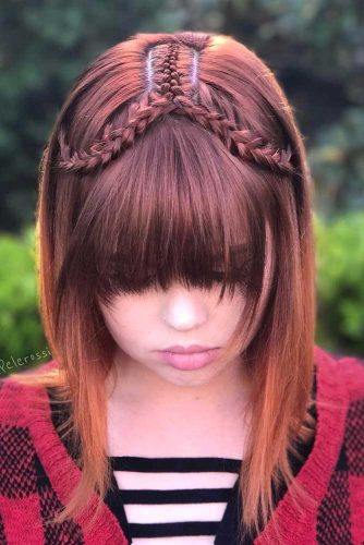 Straight Classics Bangs for Different Hair Types picture 2