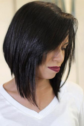 Long Bob with Long Bangs picture 2
