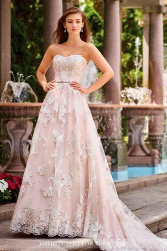 Chic Wedding Dresses in Pink picture 3