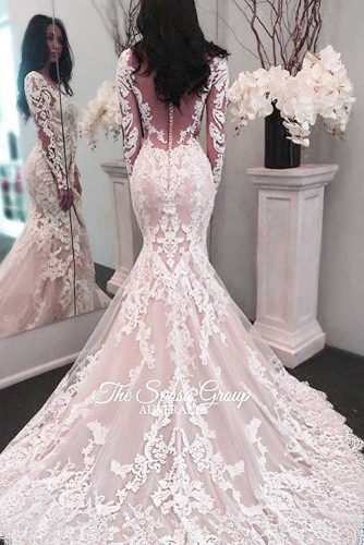 Chic Wedding Dresses in Pink picture 2