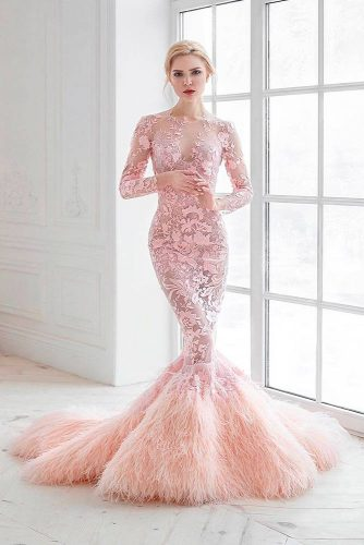 Chic Wedding Dresses in Pink picture1