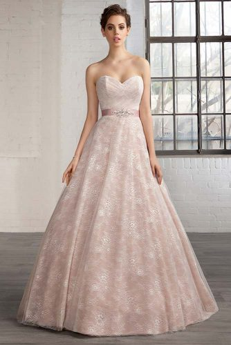 Chic Wedding Dresses in Pink picture 5