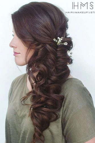 Romantic Side Braid Hairstyles picture 1
