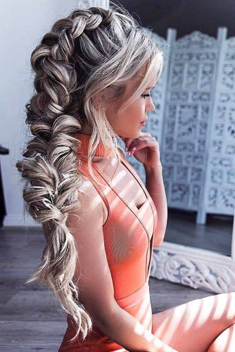 Romantic Side Braid Hairstyles picture 4