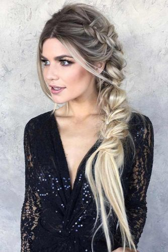 Romantic Side Braid Hairstyles picture 5