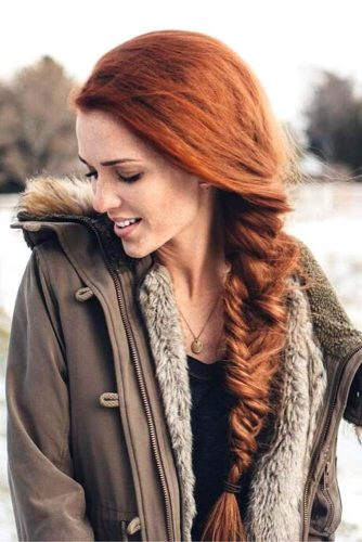 Fishtail Side Braid Hairstyles picture 3