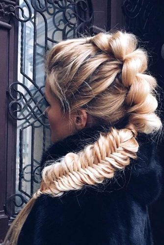 Fishtail Side Braid Hairstyles picture 5