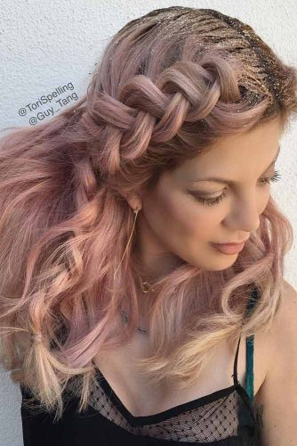 Cute Braid Hairstyles Ideas picture 4