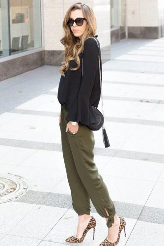 Summer Trousers Outfit Ideas picture 4