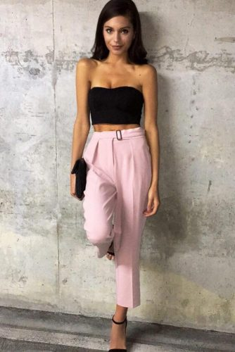 Summer Trousers Outfit Ideas picture 6