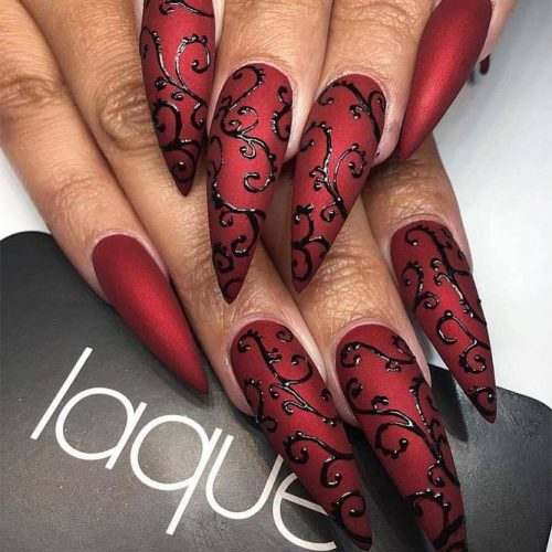Ravishing Red Nails