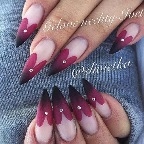 Hearts Abound Nail Design