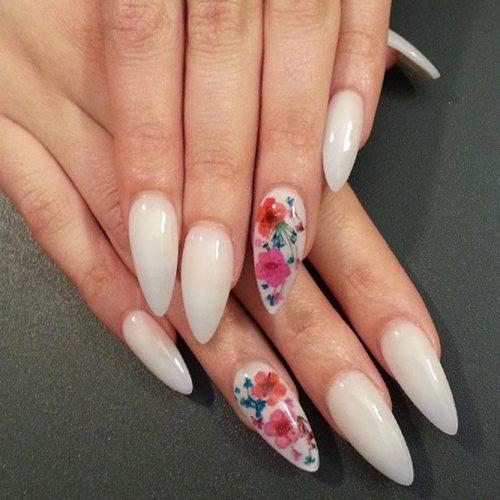 Forever Flowers Nail Art