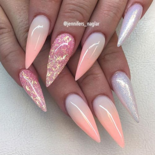 44 Stunning Designs For Stiletto Nails For A Daring New Look
