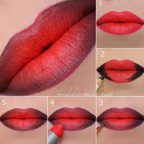 How to Apply Lipstick in Dark Tones picture1