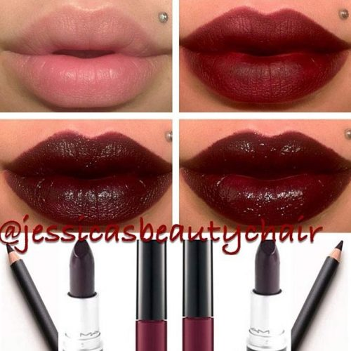 How to Apply Lipstick in Dark Tones picture2