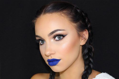 Blue Lipstick Shades We're Falling For This Season