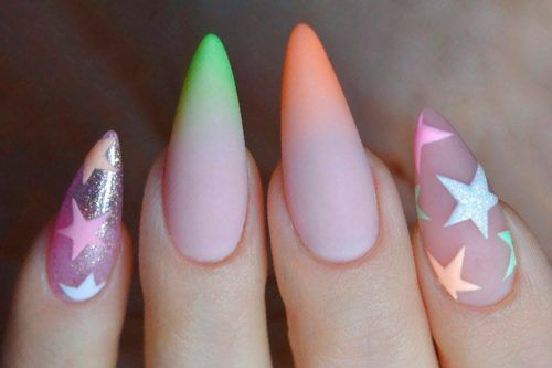 36 Elegant And Hip Designs For Matte Nail Polish