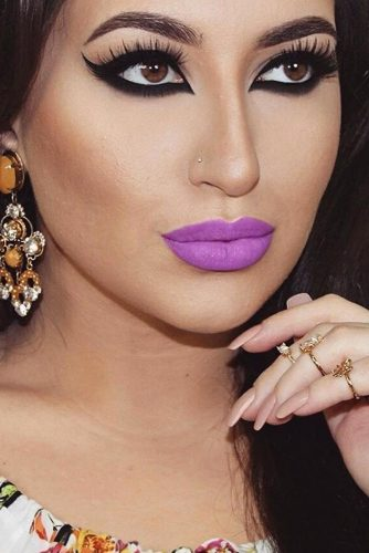 Cute Purple Lipstick Looks picture 6