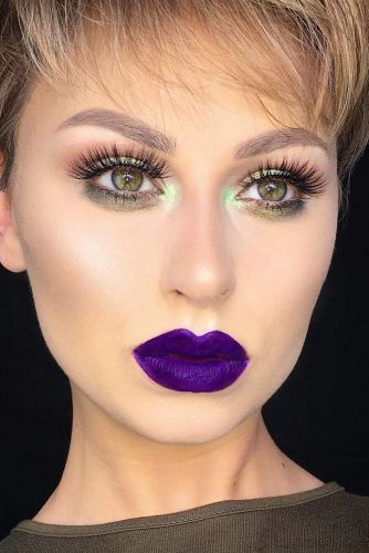 Cute Purple Lipstick Looks picture 5