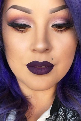 Amazing Purple Lipstick Makeup Ideas picture 5