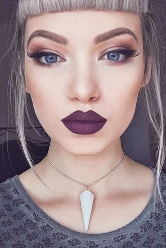 Cute Purple Lipstick Looks picture 3