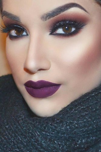 Amazing Purple Lipstick Makeup Ideas picture 4