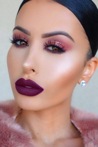 Cute Purple Lipstick Looks picture 2