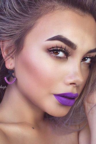 Cute Purple Lipstick Looks picture 4