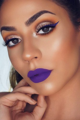 Amazing Purple Lipstick Makeup Ideas picture 6