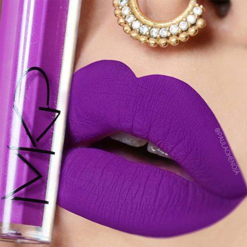 Matte Purple Lipstick Shades picture 1