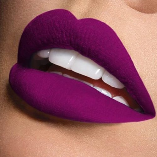Matte Purple Lipstick Shades picture 2