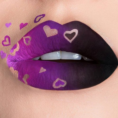 Creative Lip Makeup Ideas picture 1