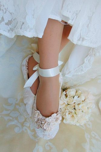 Wedding Ballerina Style Shoes picture 1