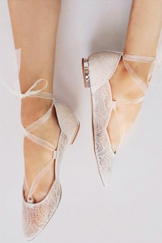 Wedding Ballerina Style Shoes picture 2
