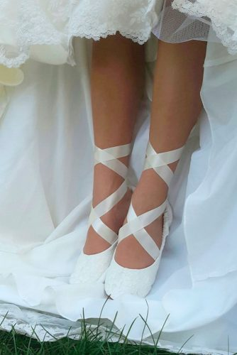 Wedding Ballerina Style Shoes picture 3