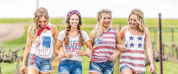 24 Pictures of Pretty 4th of July Outfits