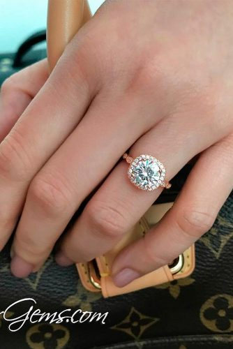 Romantic Diamond Engagement Rings picture 4