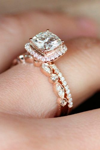Luxurious Rose Gold Engagement Rings picture 6