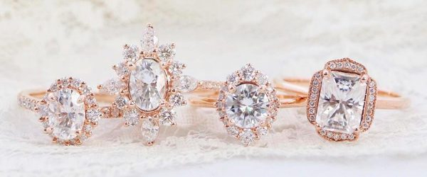 24 Beautiful Rose Gold Engagement Rings