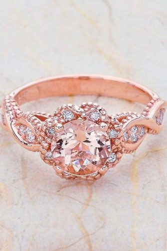 Luxurious Rose Gold Engagement Rings picture 5