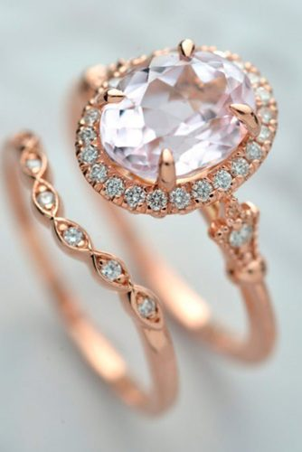 Luxurious Rose Gold Engagement Rings picture 4