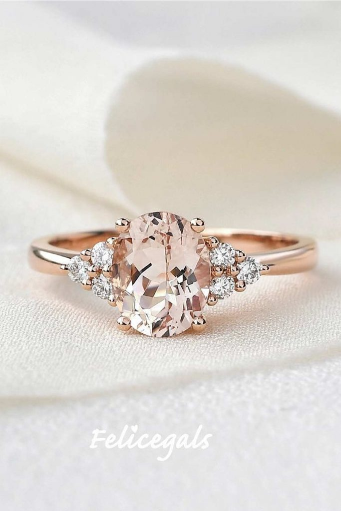 Oval Engagement Ring Shape #rosediamond